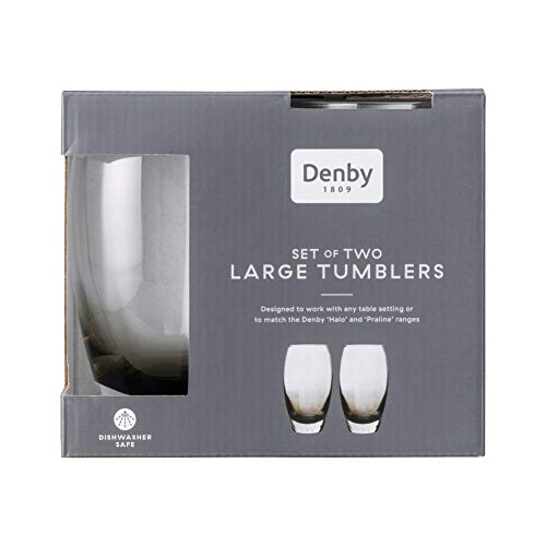 Denby Halo Large Tumblers Pack of 2 0.55L