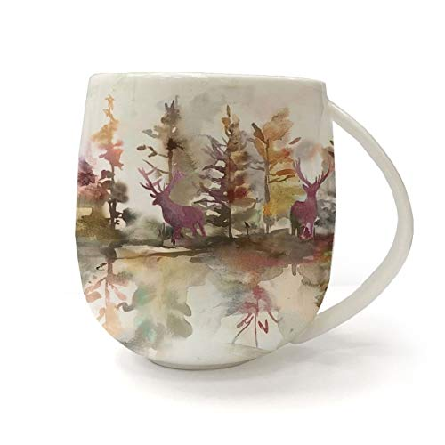 Voyage Wilderness Forest Plum Mug Gift Boxed