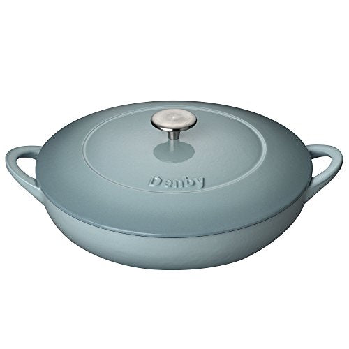 Denby Cast Iron Shallow Casserole, Pavillion, 30 cm - Jacksons of Saintfield