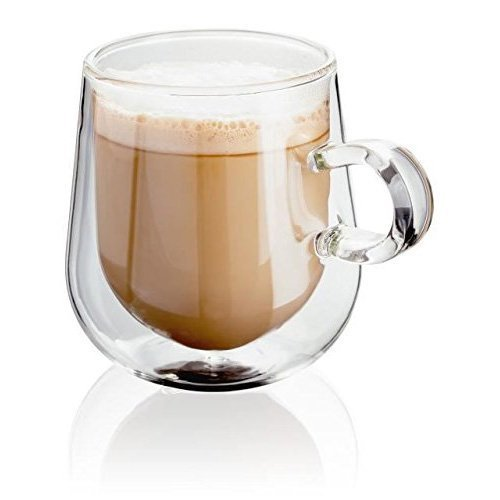 Judge JDG35 Double Walled latte Glasses 275ml Set of 2