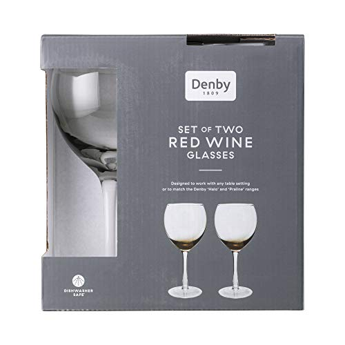 Denby Halo Red Wine Glasses Pack of 2 0.48L
