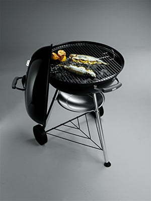 Weber 57cm Compact Black Charcoal Barbecue