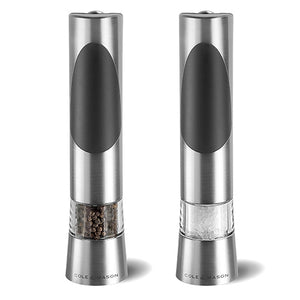 Cole & Mason Mini Electric Salt & Pepper Grinders