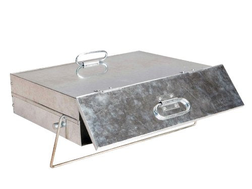 Manor Quality Galvanised Ash Carrier Box 0569 - Jacksons of Saintfield