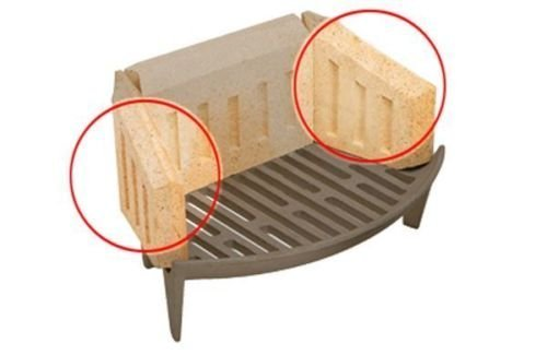 Manor Coal Saver Bricks Side Pair 0063