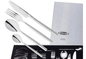 Stellar Rochester Polished 58 Piece Cutlery Gift Box Set Ref: BL71