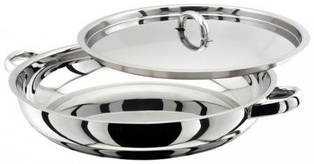 Judge Paella Pan Silver 30 cm JA71