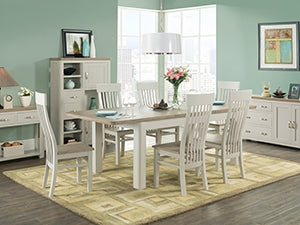 Smokey Oak Tables and Four Chairs