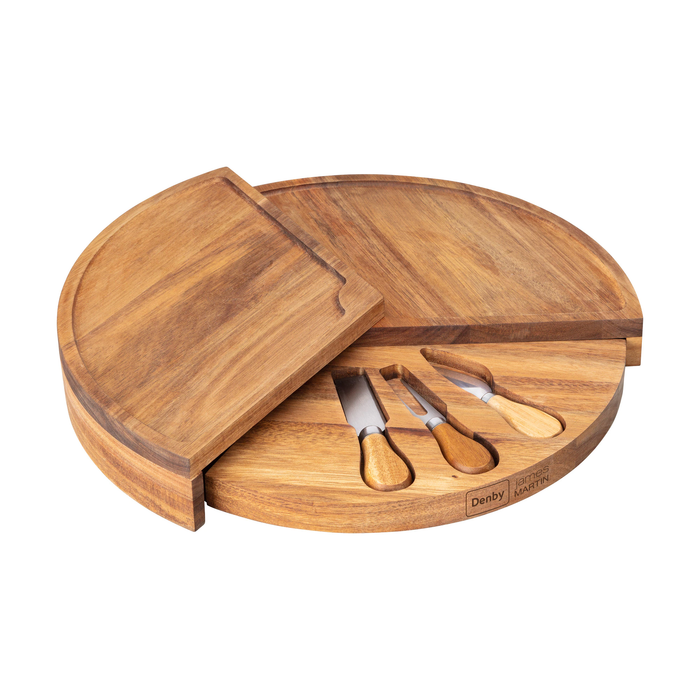 Denby 4 Piece Cheese Board Set