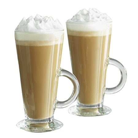 Latte Glasses Set of 2