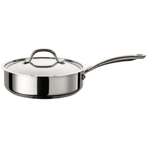 Circulon Ultimum Stainless Steel Covered Saute Pan 24cm 2.8L Induction Non-Stick