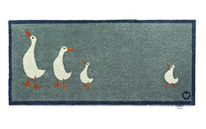 Hug Rug Runner Kitchen 16 Geese design 65x150cm Indoor Barrier Mat