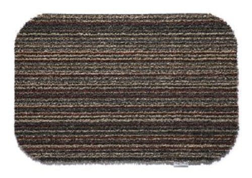 HUG RUG Candy Stripe Design 80 x 100cm The Best Quality Machine Washable, Dirt Trapper Door Mat / Runner