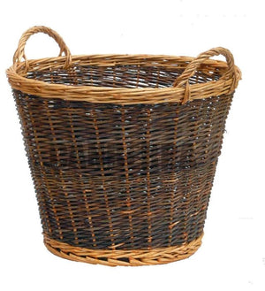 Log Basket - Two Tone