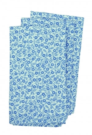 Burleigh Blue Felicity Tea Towels Set of Three, Sale!