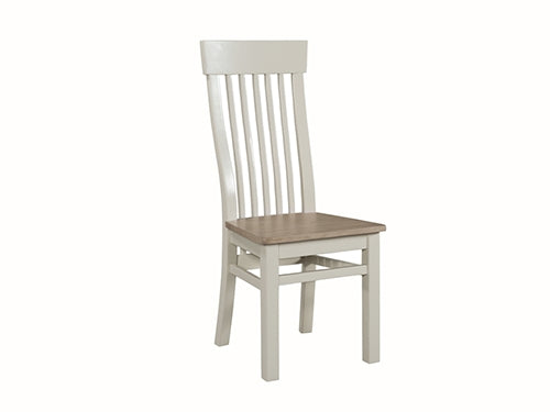 Smokey Oak Painted Dining Chair