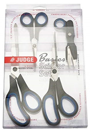 Judge 4 Piece Basic Scissor Set