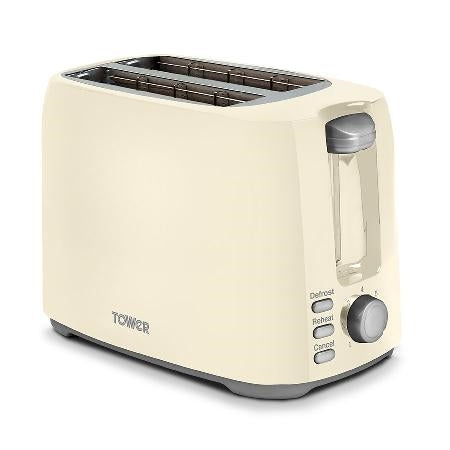 Tower Cream Toaster