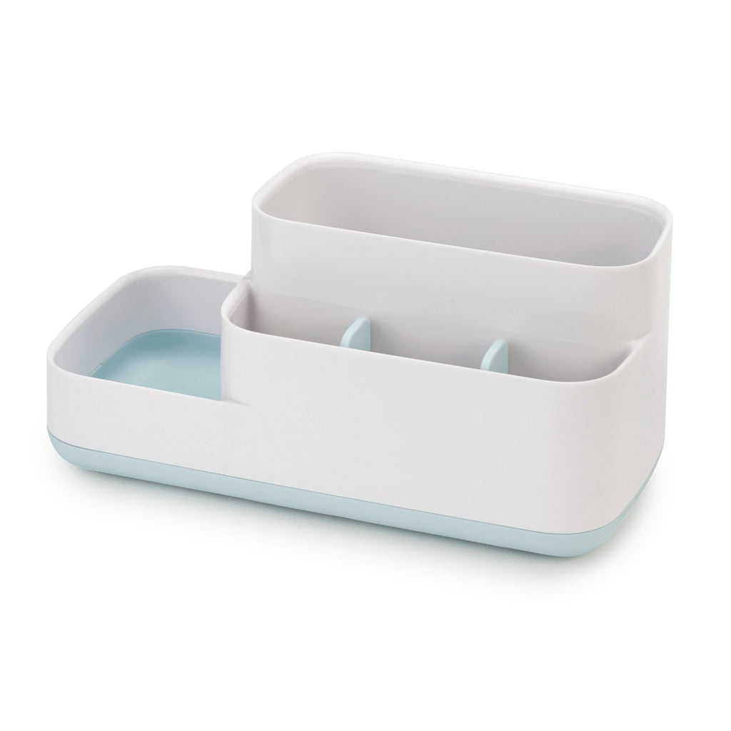 Joseph Joseph Bathroom Easy-Store Bathroom Caddy White/Blue