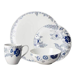 Denby Monsoon Monsoon Fleur 16 Piece Tableware Set