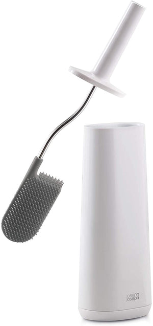 Joseph Joseph Flex Toilet Brush with holder White/White 70538