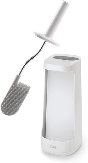 Joseph Joseph Flex Plus Toilet Brush with storage bay White/White 70539