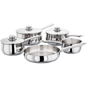Stellar 1000 5 Piece Saucepan Set S1C1 Induction Compatible