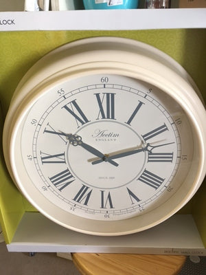 Wall Clock Cream