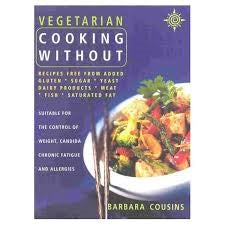 A.Vogel Vegetarian Cooking Without - Book
