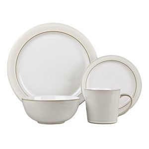 Denby Natural Canvas Dinner Set - 16 Piece
