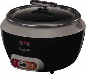 Tefal RK1568UK Cool Touch Rice Cooker 20 Portions 700 W 1.8 Litre Black