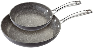 Stellar Rocktanium Frypan Set 20cm and 28cm Frypans Non Stick Lifetime Guarantee