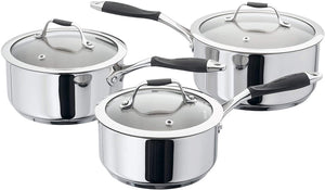 Stellar James Martin Induction 3 Piece Saucepan Set 3 Piece