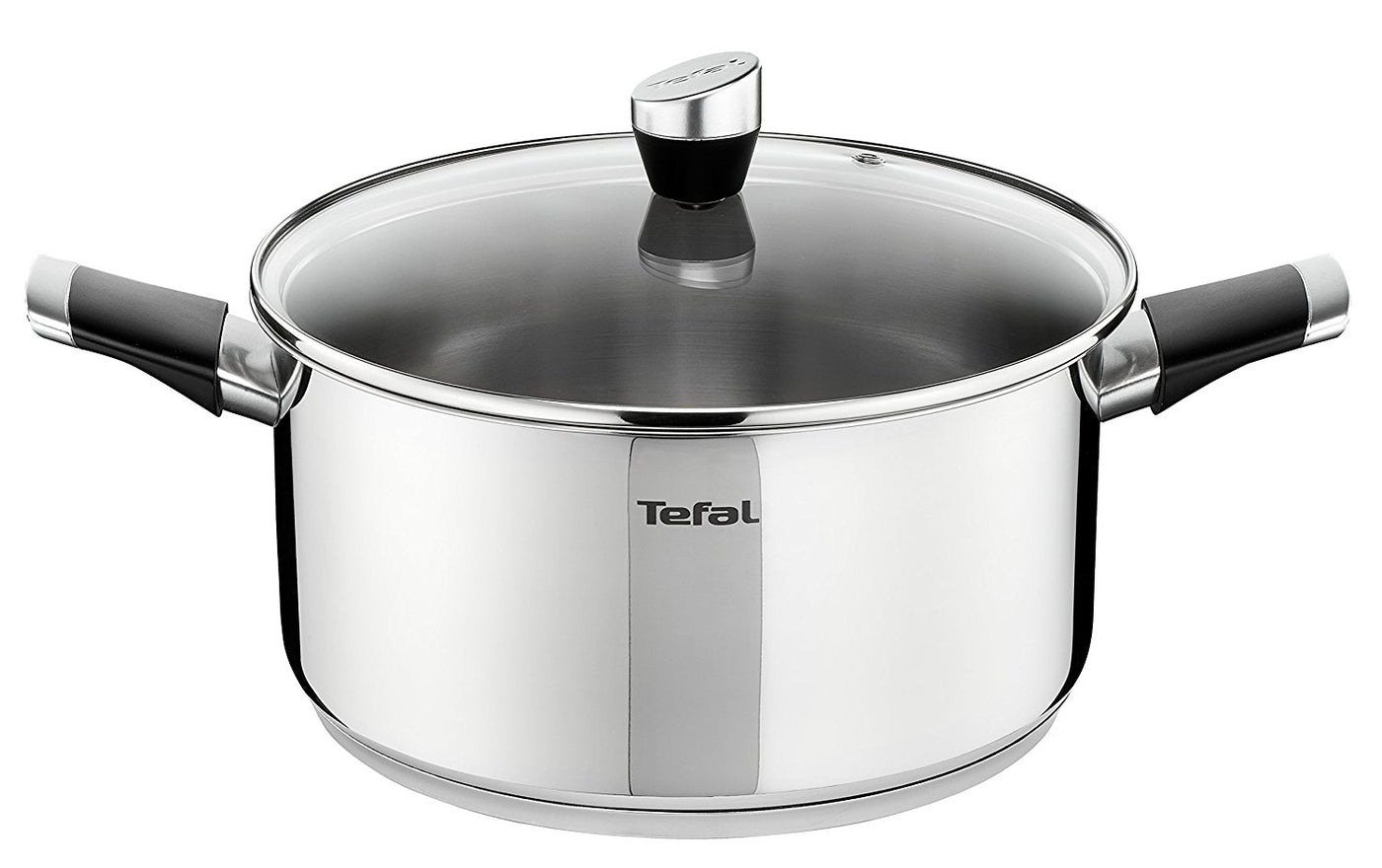 1750036e3 Tefal Emotion Stainless Steel Stew Pot 24cm E8234644 – Jacksons of ...