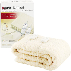 Monogram Electric Blanket King Size