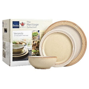Denby Heritage Veranda - 12 Piece Dinner Set