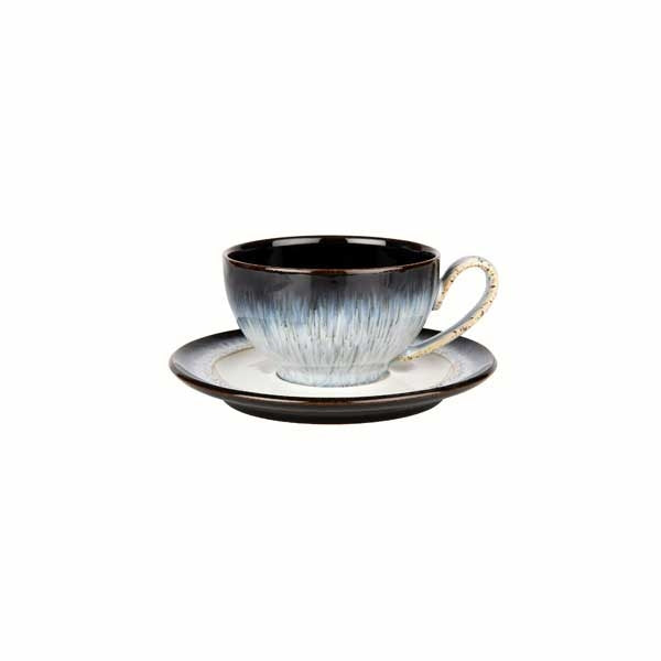 Denby Halo Wide Rimmed Tea Saucer