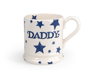 Emma Bridgewater Daddy Starry Skies Half Pint Mug