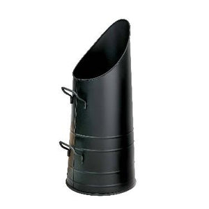 Round Tower Coal Hod - Black