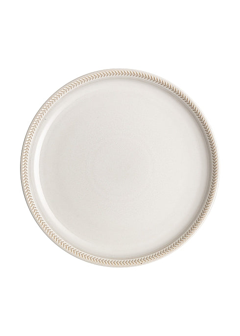 Denby Natural Canvas Coupe Textured Dinner Plate