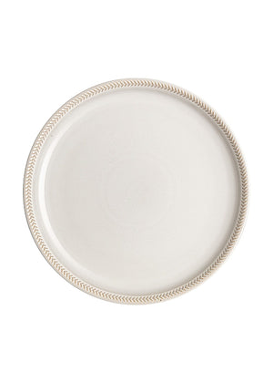 Denby Natural Canvas Coupe Textured Medium Plate