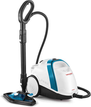 Polti Vaporetto Smart 100B Steam Cleaner High Pressure Boiler 4 Bar Kills and Eliminates 99.99% of viruses, germs and bacteria, 9 accessories