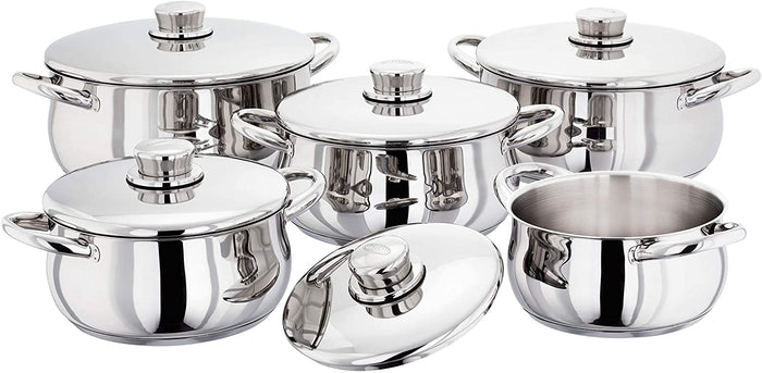 Stellar 1000 5 Piece Casserole Set S1F3 Induction Compatible