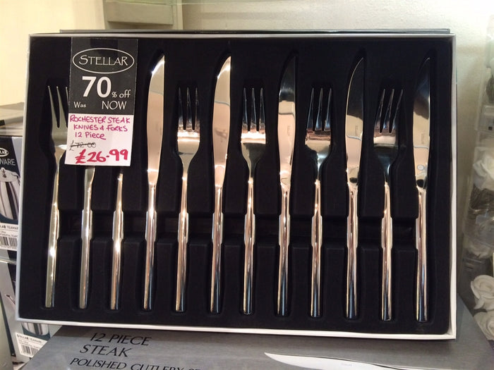 Stellar Rochester Steak Knife Set