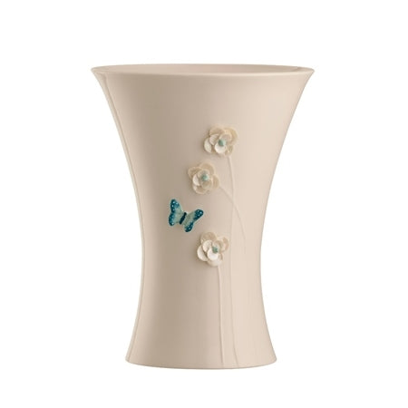 "BELLEEK LIVING AZURE 10"" VASE"