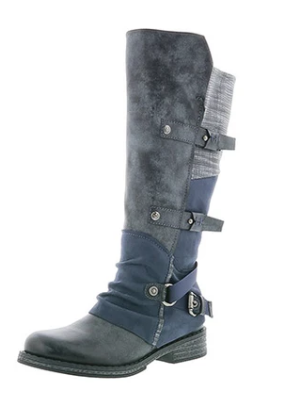 Rieker boots 192284-45 in grey