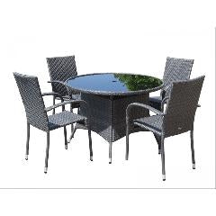 Marlow 5 Piece Stacking Outdoor Set