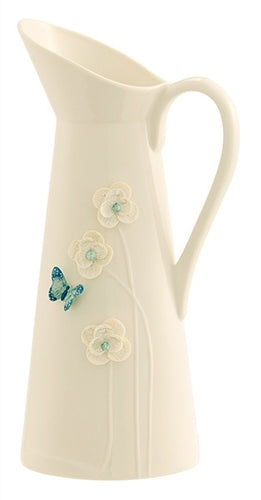 Belleek Living Azure Pitcher