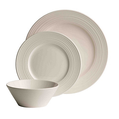 Belleek Ripple Dinner Set - 12 Piece