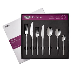 Stellar Rochester Polished 58 Piece Cutlery Gift Box Set BL71